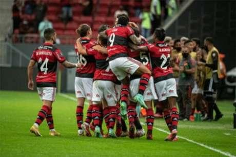 Flamengo está nas quartas da Liberta (Foto: Alexandre Vidal/CRF)