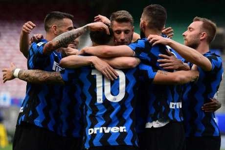 A Inter de Milão está oficialmente fora da Florida Cup (Foto: MIGUEL MEDINA / AFP)