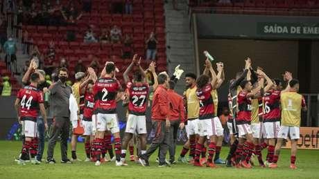 Flamengo avançou às quartas da Libertadores (Foto: Alexandre Vidal / Flamengo)