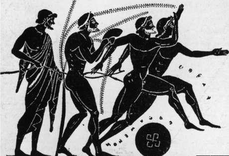 Ilustracao antiga dos Jogos