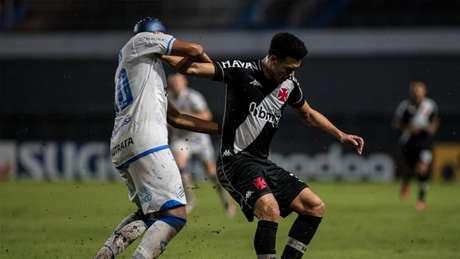Marquinhos Gabriel começou bem o jogo contra o CSA, depois caiu de rendimento (Alisson Frazao/Vasco)