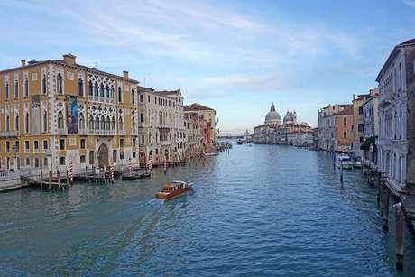 Vista do Canal Grande de Veneza