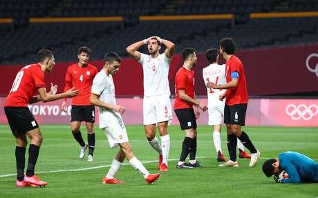 Espanha decepciona e só empata com o Egito na estreia do futebol masculino na Olimpíada 2020 Tóquio