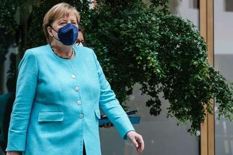 Merkel fez afirmações durante a sua última coletiva de imprensa formal à frente do governo alemão