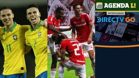 O dia terá futebol masculino nos Jogos Olímpicos, decisão na Libertadores e muito mais! (Foto: Montagem LANCE!)
