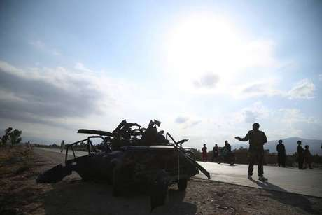 Operação de oficias de segurança do Afeganistão