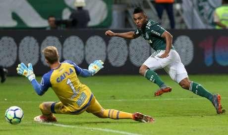 Borja tem contrato com o Palmeiras até o final de 2021 (Foto: Cesar Greco/Palmeiras)