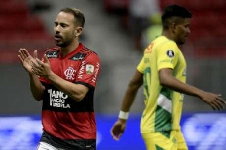 Everton Ribeiro tem 33 jogos pelo Flamengo na Libertadores (Foto: Staff Images/CONMEBOL)