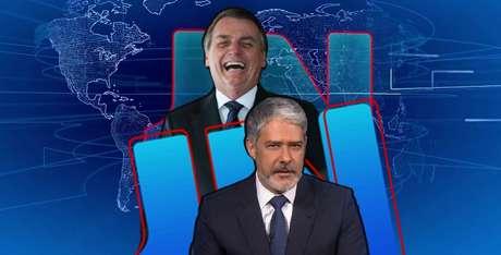 Bolsonaro viu o 'JN' concordar com ele, mas na sequência seu governo ficou novamente sob ataque