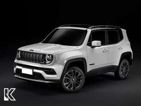 Jeep Renegade ganhará novo para-choque com linhas mais retas.