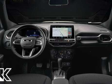 Projeção do designer Kleber Silva imagina interior do novo Jeep Renegade.