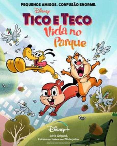 'Tico e Teco: Vida no Parque' estreia no dia 28 de julho