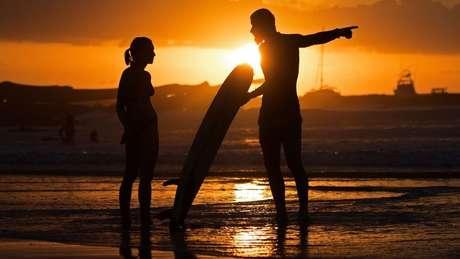 As praias da Costa Rica atraem turistas do mundo inteiro