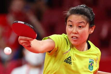 Jessica Yamada perde no tênis de mesa para rival da Suíça