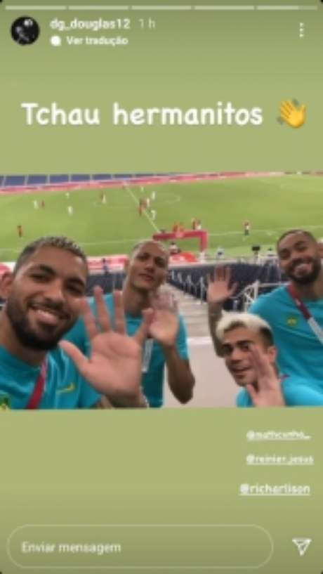 A Argentina foi eliminada dos Jogos Olímpicos (Foto: Reprodução)