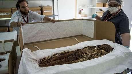 Até hoje foram analisadas cerca de 208 múmias