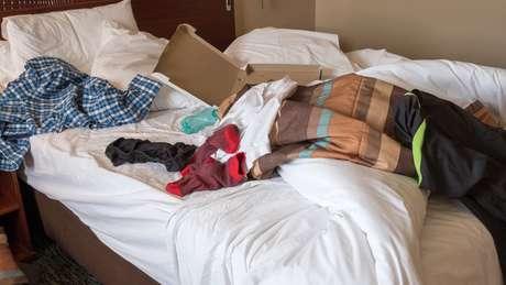 Alguns germes microscópicos podem sobreviver por um longo tempo em alguns tecidos e transportados para a nossa cama por meio de outros objetos