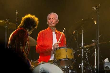Charlie Watts durante show dos Rolling Stones em Chicago 21/06/2019 REUTERS/Daniel Acker