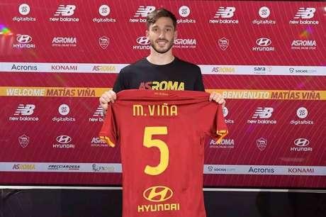 Matthias indosserà la maglia 5 della Roma, Italia (Foto: Press/Roma)