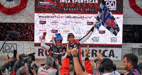 Nasr e Derani vencem em Elkhart Lake e entram de vez na briga pelo título  do SportsCar
