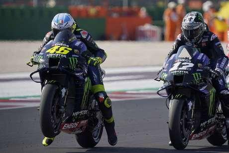 Valentino Rossi ha sottolineato di essere amico di Maverick Vinales