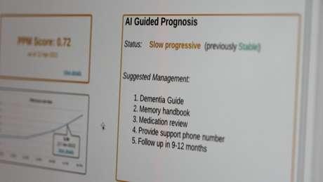 Il sistema prevede se la demenza è stabile, progredisce lentamente o richiede un ricovero immediato