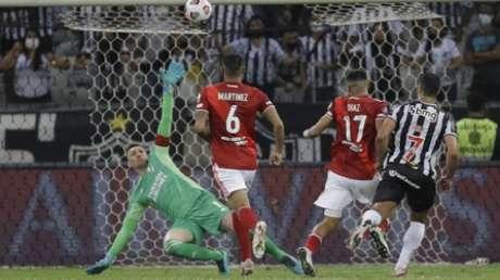 Atlético-MG derruba o River Plate (BRUNA PRADO / POOL / AFP)