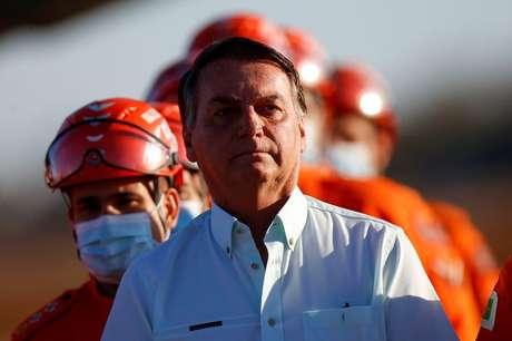 Presidente Jair Bolsonaro em Brasília 22/08/2021 REUTERS/Adriano Machado