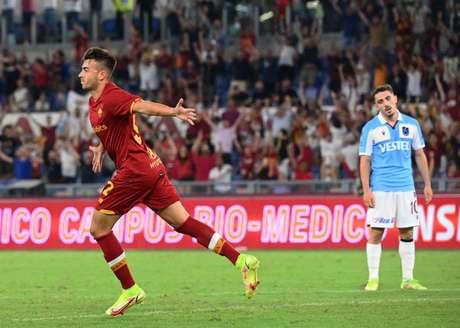El Shaarawy ha fatto bene alla Roma per concludere la vittoria dell'Italia allo Stadio Olimpico (Foto: VINCENZO PINTO / AFP)