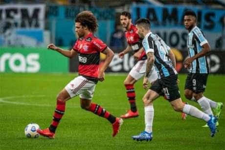 Grêmio e Flamengo foram para o intervalo com 0x0 no placar (Foto: Alexandre Vidal / Flamengo)