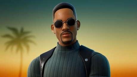 Will Smith em Fortnite