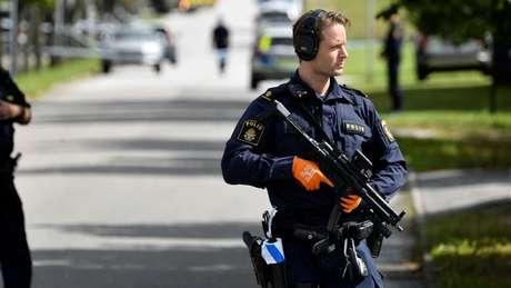 Suécia registrou mais de 180 tiroteios neste ano