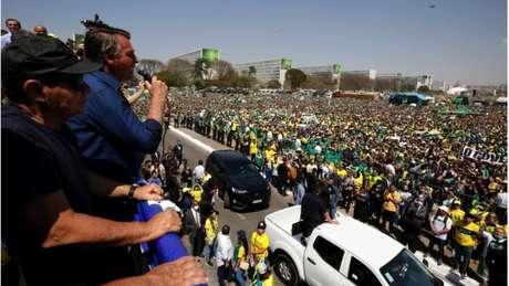 Imprensa internacional voltou a destacar nesta quarta-feira os protestos de 7 de setembros convocados por Bolsonaro
