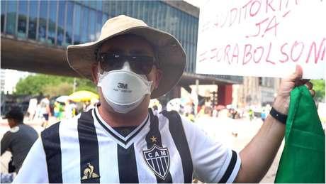 Eleitor de Ciro, empresário Ricardo Brandão foi à Paulista para defender auditoria da dívida