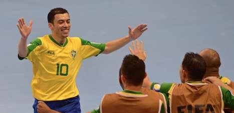 Dupla brasileira concorre à Bola de Ouro do Mundial de Futsal