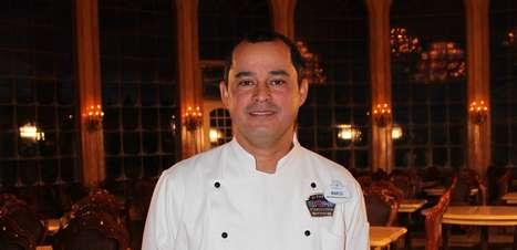 """""""Amo o que faço"""", diz chef brasileiro na Disney"""
