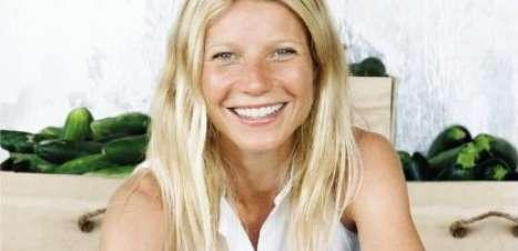 Aos 40 anos, Gwyneth Paltrow lança receitas para emagrecer