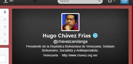 Com 4 milhões de seguidores, conta de Chávez no Twitter fica órfã