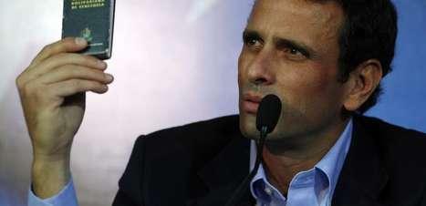 """Oposição venezuelana baseará campanha nas """"mentiras"""" do governo"""