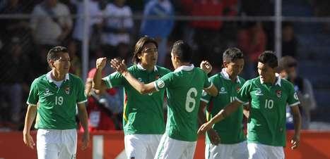 """""""Pedra no sapato"""", Bolívia marca com M. Moreno e empata com Argentina"""