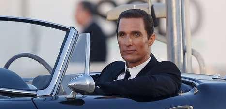 Scarlett Johansson e Matthew McConaughey fazem campanha de perfume
