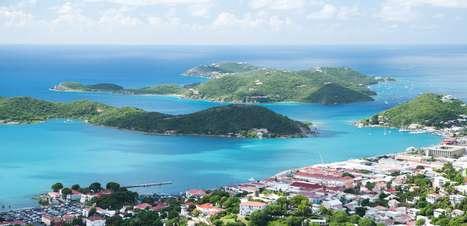 St Thomas tem um dos portos mais movimentados do Caribe