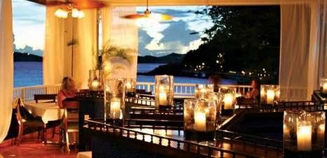 Veja onde curtir um belo jantar à beira-mar em St Thomas
