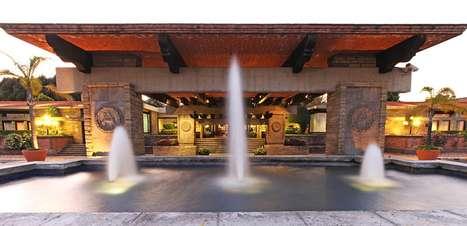 Hotel é oásis verde em meio a distrito financeiro de Puebla