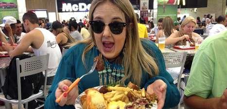 """Transformada, Tici Pinheiro fica obesa e diz que se sentiu """"invisível"""""""