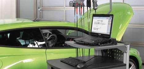VAS ajuda a oficina da Volkswagen a identificar os problemas