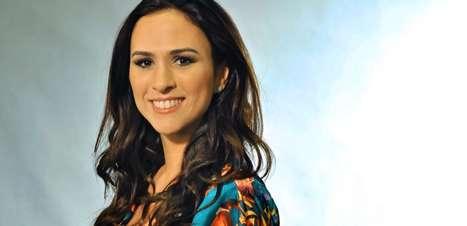 "TV: ""casaria com Wolf Maya pra me manter na Globo"", brinca Tatá Werneck"
