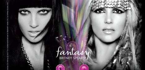 Britney Spears fica loira e morena para divulgar novos perfumes