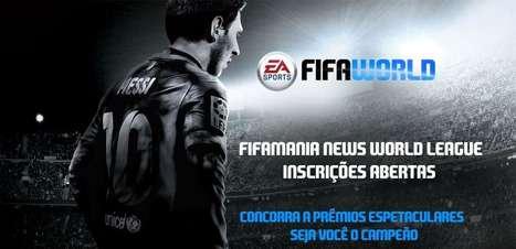 Campeonato de 'Fifa World' dá prêmio de até R$ 500