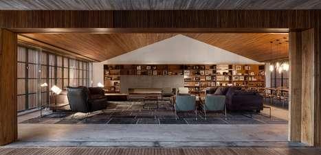 Projetos dão ideias sofisticadas para decorar sala de estar